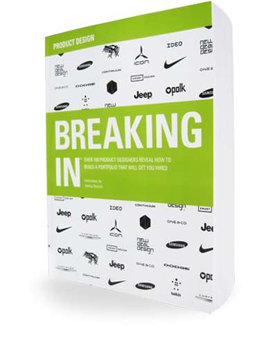 Breaking In: Product Design book