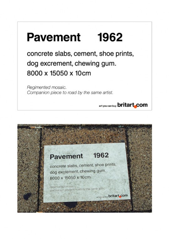 BritArt Ambient Pavement