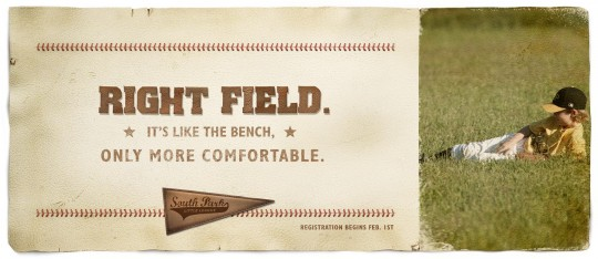 SP Right Field Poster