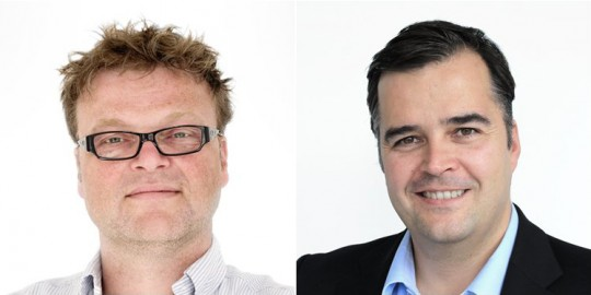 Harm-Willem Hogenbirk and Marc Nagel of Pilotfish