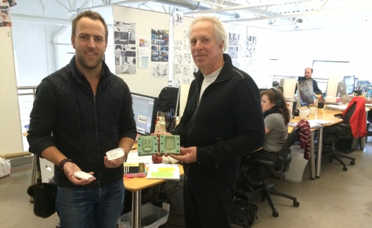 Bob Worrell, (left) of Worrell Design, pictured here with Kai Worrell, (left) CEO of Worrell Design.