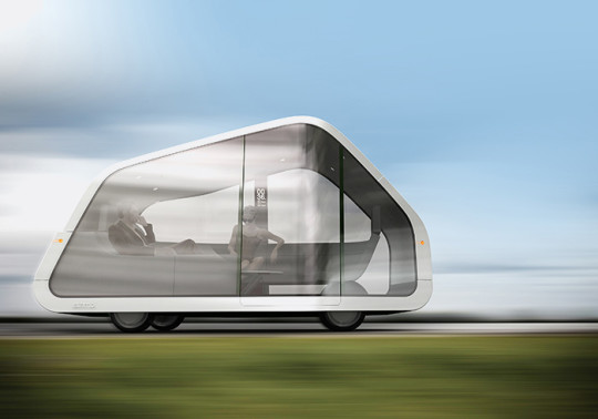 ATNMBL is a concept vehicle for 2040 that represents the end of driving and an alternative approach to car design.